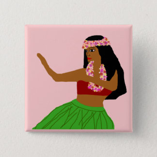 Hula sway dancer button