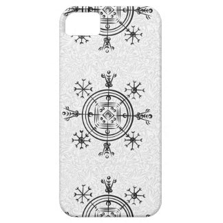 Hulinhjalmur Icelandic magical sign Case For The iPhone 5