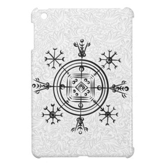 Hulinhjalmur Icelandic magical sign iPad Mini Covers