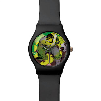 Hulk Abstract Graphic Watch