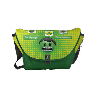 Hulk Emoji Courier Bag