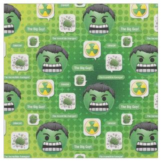 Hulk Emoji Fabric