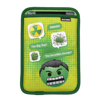 Hulk Emoji iPad Mini Sleeve