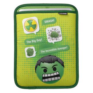 Hulk Emoji iPad Sleeve