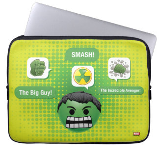 Hulk Emoji Laptop Sleeve