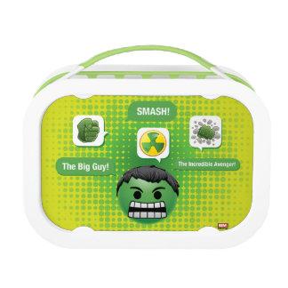 Hulk Emoji Lunch Box