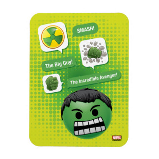 Hulk Emoji Magnet