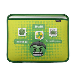 Hulk Emoji Sleeve For MacBook Air