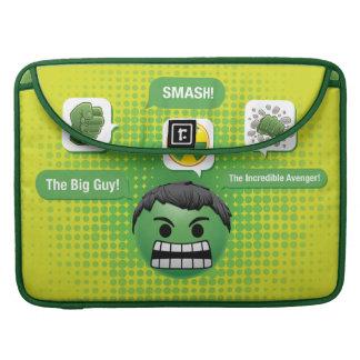 Hulk Emoji Sleeve For MacBooks