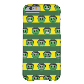 Hulk Emoji Stripe Pattern Barely There iPhone 6 Case