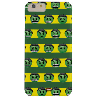 Hulk Emoji Stripe Pattern Barely There iPhone 6 Plus Case