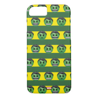Hulk Emoji Stripe Pattern iPhone 8/7 Case