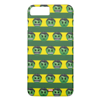 Hulk Emoji Stripe Pattern iPhone 8 Plus/7 Plus Case