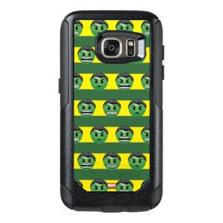 Hulk Emoji Stripe Pattern OtterBox Samsung Galaxy S7 Case