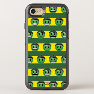 Hulk Emoji Stripe Pattern OtterBox Symmetry iPhone 8/7 Case