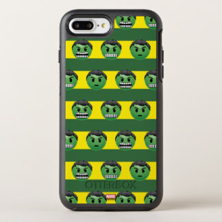 Hulk Emoji Stripe Pattern OtterBox Symmetry iPhone 8 Plus/7 Plus Case