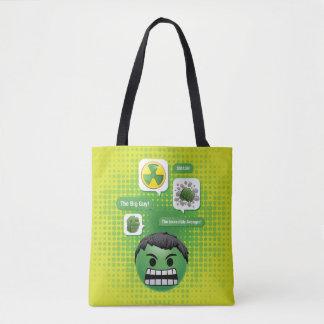 Hulk Emoji Tote Bag
