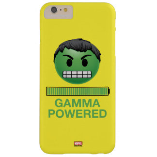 Hulk Gamma Powered Emoji Barely There iPhone 6 Plus Case