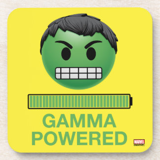 Hulk Gamma Powered Emoji Coaster