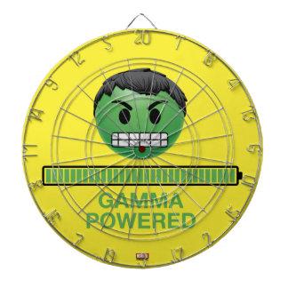 Hulk Gamma Powered Emoji Dartboard