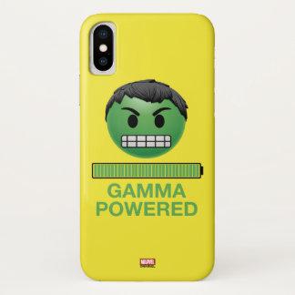 Hulk Gamma Powered Emoji iPhone X Case