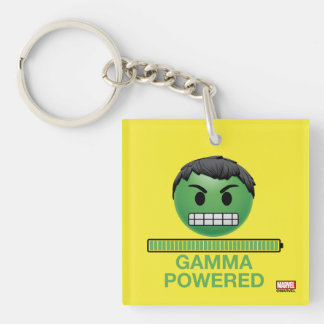 Hulk Gamma Powered Emoji Key Ring