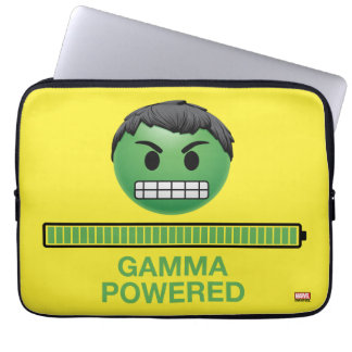 Hulk Gamma Powered Emoji Laptop Sleeve