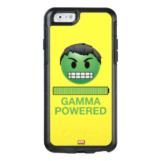 Hulk Gamma Powered Emoji OtterBox iPhone 6/6s Case
