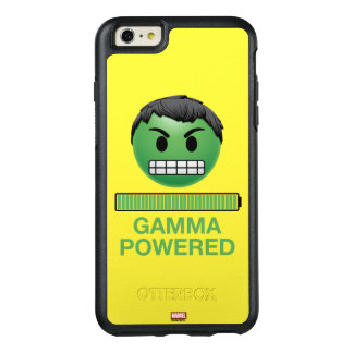 Hulk Gamma Powered Emoji OtterBox iPhone 6/6s Plus Case
