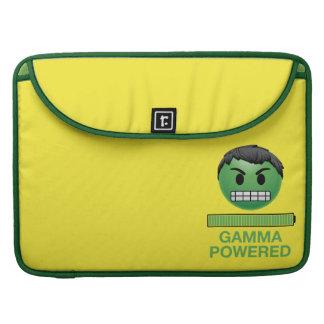Hulk Gamma Powered Emoji Sleeve For MacBooks