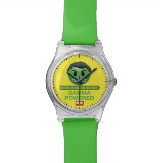 Hulk Gamma Powered Emoji Watch