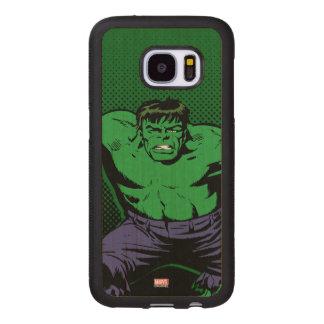 Hulk Retro Arms Wood Samsung Galaxy S7 Case