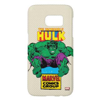 Hulk Retro Comic Character