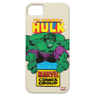 Hulk Retro Comic Character Barely There iPhone 5 Case