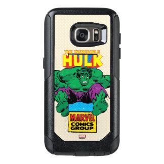 Hulk Retro Comic Character OtterBox Samsung Galaxy S7 Case