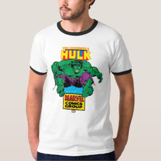 Hulk Retro Comic Character T-Shirt