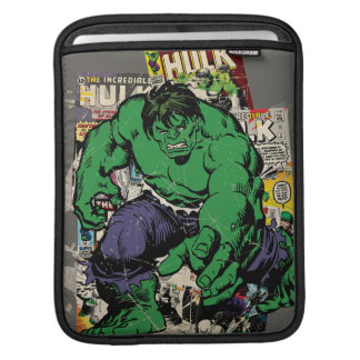 Hulk Retro Comic Graphic iPad Sleeve