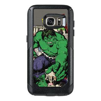Hulk Retro Comic Graphic OtterBox Samsung Galaxy S7 Case