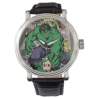 Hulk Retro Comic Graphic Wristwatches