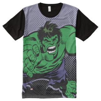 Hulk Retro Dive All-Over Print T-Shirt