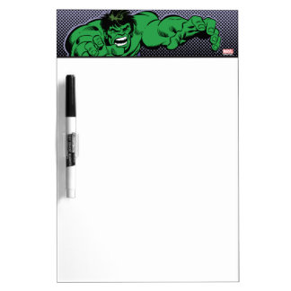 Hulk Retro Dive Dry Erase Board