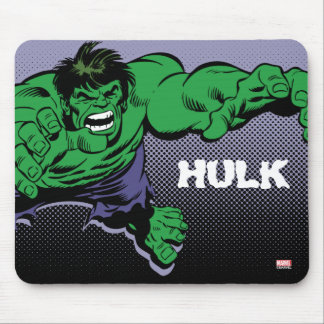 Hulk Retro Dive Mouse Pad