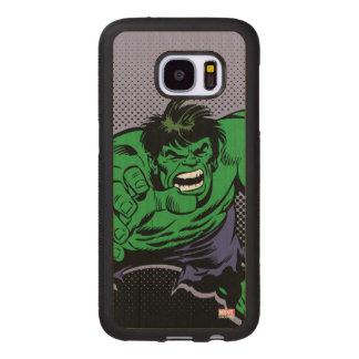 Hulk Retro Dive Wood Samsung Galaxy S7 Case