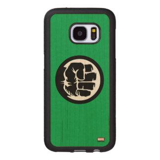 Hulk Retro Fist Icon Wood Samsung Galaxy S7 Case