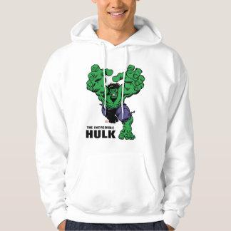 Hulk Retro Grab Hoodie
