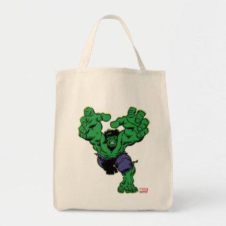 Hulk Retro Grab Tote Bag