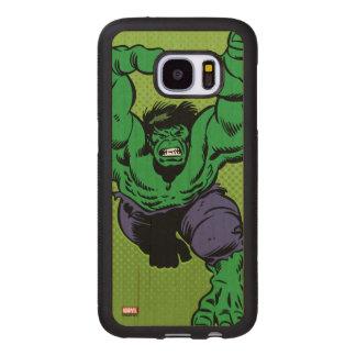 Hulk Retro Grab Wood Samsung Galaxy S7 Case