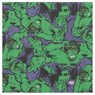Hulk Retro Jump Fabric