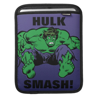 Hulk Retro Jump iPad Sleeve