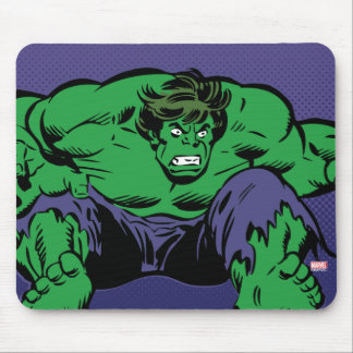 Hulk Retro Jump Mouse Pad
